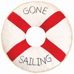 Sail Away Gone Sailing Pillow