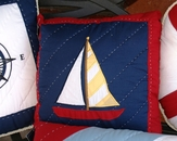 Sail Away Pillow