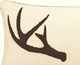 Sleepy Forest Deer Antler Pillow