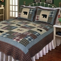 Smoky Mountain Bear Quilt Set