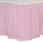 Solid Pink Dust Ruffle Bedskirt