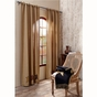 Stratton Brown Star Panel Drapes (84x40)