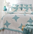 Summerhill Cottage Blue Star Quilt