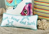 Sun Sand and Surf Accent Pillow