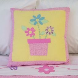Sweet Helen Flower Pillow