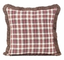 Tacoma Fabric Ruffled Pillow