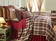 Tacoma Woven Red Plaid Coverlet by VHC Brands
