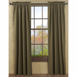 Tea Cabin Plaid Panel Drapes