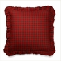 Timberline Red Buffalo Check Euro Sham