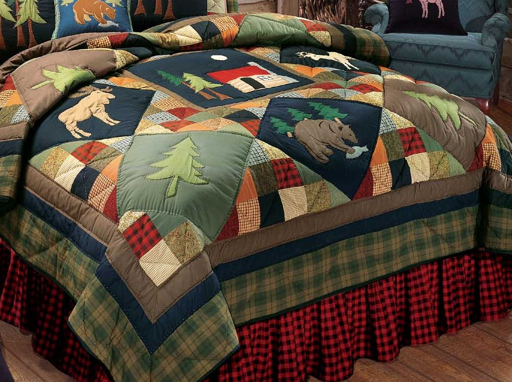 Lodge Quilt : timberline quilt - Adamdwight.com
