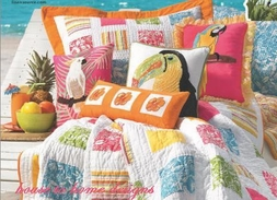 Tropical Beach Pillows