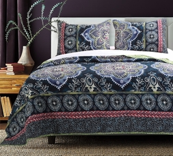 Twyla Indigo Dream Quilt Set