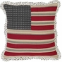 Victory American Flag Pillow