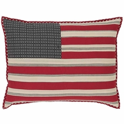 Victory American Flag Standard Sham (one left in stock)