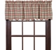 Victory Plaid Window Valance