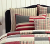 Victory Vintage Ticking Stripe Euro Sham