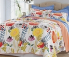 Watercolor Dream Floral Quilt Set