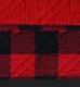 Western Red Buffalo Plaid Quilted Throw