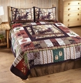Whitetail Buck Quilt Set
