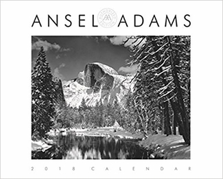 2018 ANSEL ADAMS WALL CALENDAR