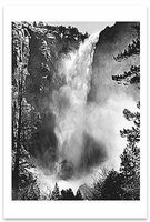 BRIDALVEIL FALL, YOSEMITE NATIONAL PARK, CA, c 1927