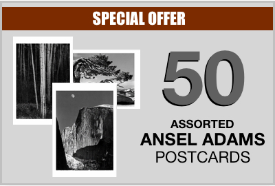 "CLASSIC ANSEL IMAGES - SMALL POSTCARD SET (5""x7"")"