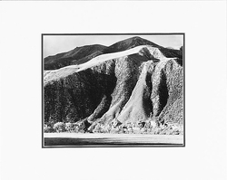 "COAST RANGE HILLS, NEAR PACHECO PASS, CALIFORNIA  Large Ansel Adams Matted Reproduction (16"" x 20"")"
