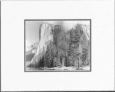 EL CAPITAN, YOSEMITE NATIONAL PARK, CA, 1949  (OUT OF STOCK)