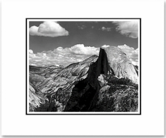 Half Dome and Clouds (OUT OF STOCK)