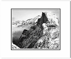 Half Dome, Winter, from Glacier Point, Yosemite National Park, CA, c. 1940                 (OUT OF STOCK)
