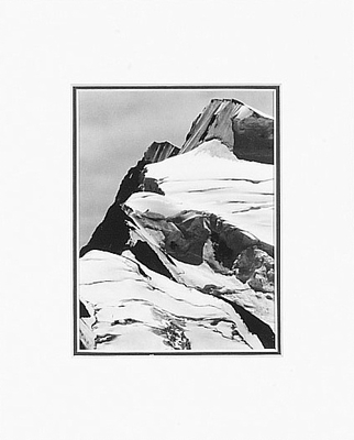 ANSEL ADAMS - MOUNT RESPLENDENT - SMALL MATTED REPRO