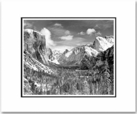 YOSEMITE VALLEY, WINTER, INSPIRATION POINT