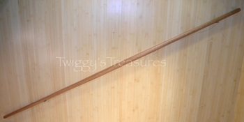"72"" Red Oak Tapered Bo Staff-1904-6-MC"