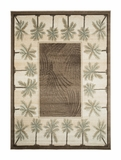 Biege/Bone  Bahamas Palm Tree Rug 2321