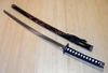 Carved Red Dragon/Black Katana-YK-58RD MC