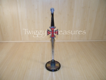 Chopper Cross Fantasy Dagger (red) ZY0508R
