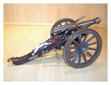 Confederate Cannon with Hidden Dagger-CAN-103