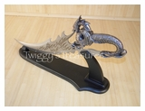 Fire Dragon Fantasy Dagger with Stand HK3053