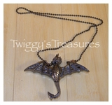 Flying Dragon Necklace-PE-612