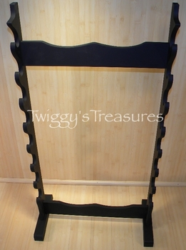 Free Standing Sword Stand-8 Piece