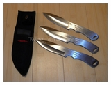 Gil Hibben Gen II Large Triple Set Throwing Knives GH 2011