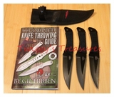 Gil Hibben Pro Thrower Triple Set & Knife Guide