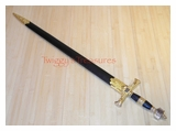 Gold King Solomon Sword SB-4914GD-B-PS