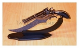 Gun Knife with Stand-KM0113-PS