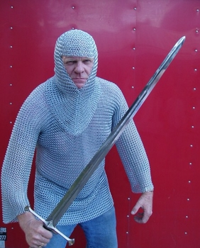Head and Body Chain Mail N128078