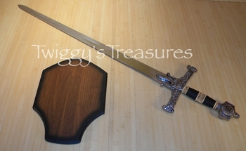 King Solomon Sword <br>4914BK-PS