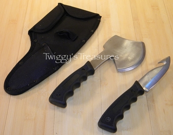 Knife and Axe Hunting Combo KX100