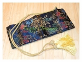 Luxurious Silk Samurai Sword Bag-RC2836​BK-2-PS