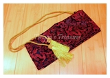 Luxurious Silk Samurai Sword Bag RC2836RD-PS