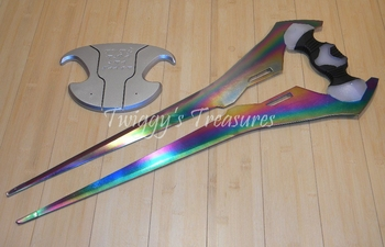 "New 29"" Anodized Steel Halo Plasma Energy Sword<K-118-WJ>"